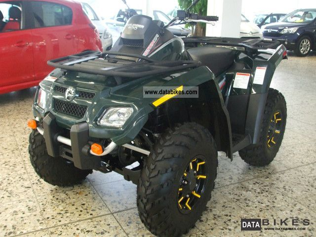 2010 Can Am  Outlander 800 4x4 Motorcycle Quad photo