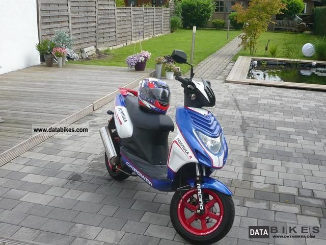 2008 CPI  25 JR Motorcycle Scooter photo