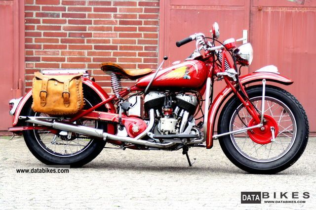 Indian  741 Army Scout 1942 Vintage, Classic and Old Bikes photo
