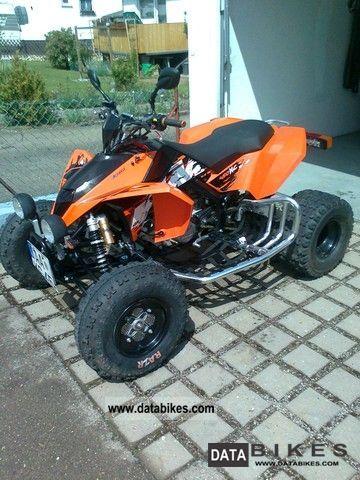 2011 KTM  XC450 Motorcycle Quad photo