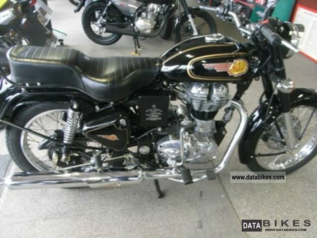 2012 Royal Enfield  Bullet 500 Motorcycle Naked Bike photo