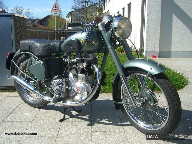 Royal Enfield  Bullet 350 Made in England 1952 Vintage, Classic and Old Bikes photo