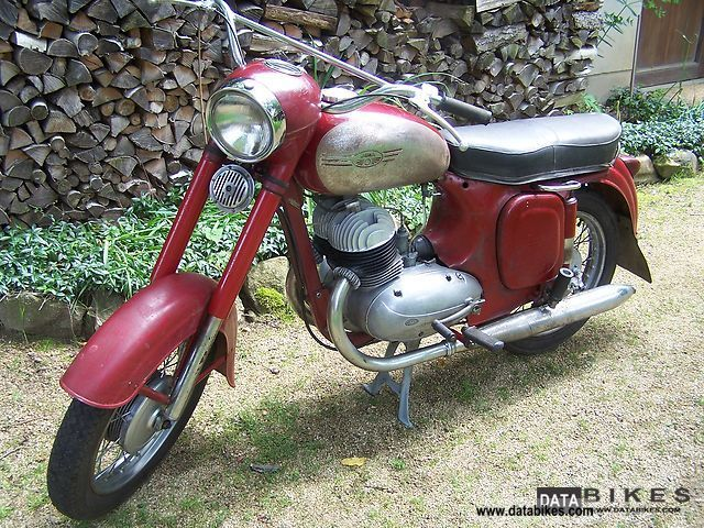 Jawa  354 1960 Vintage, Classic and Old Bikes photo