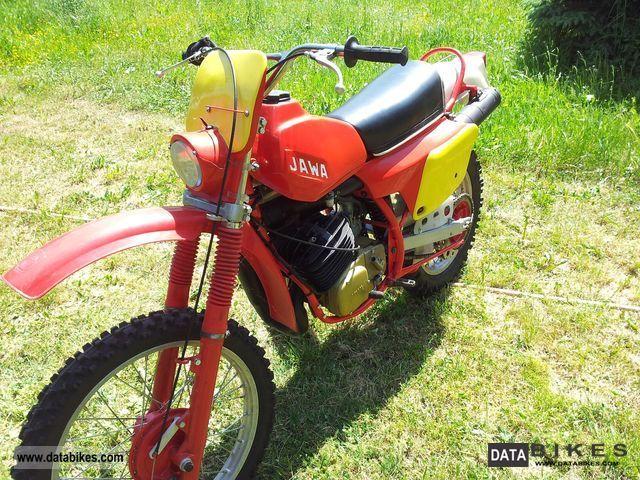 1987 Jawa  Bitrak 250 Type 681 Motorcycle Enduro/Touring Enduro photo