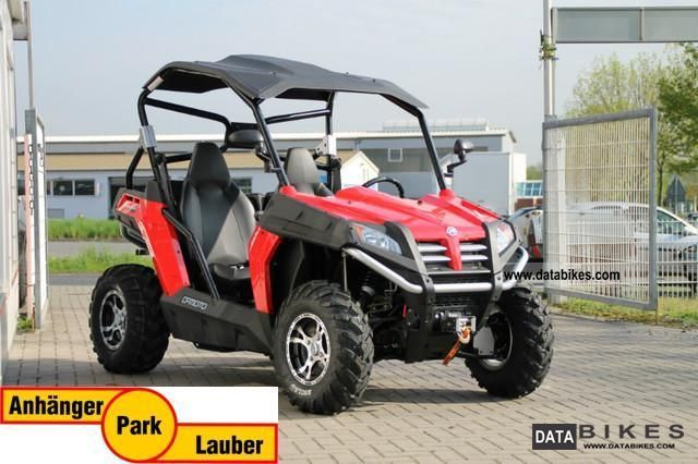 2012 Explorer  Bazooka Buggy / Terra Cross 625 4x4, LOF, red, Motorcycle Quad photo