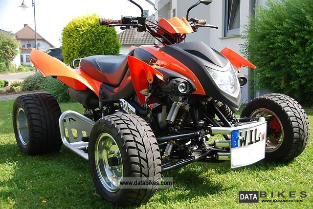 2008 Herkules  Adly 500S Hurricane Fourtec Motorcycle Quad photo