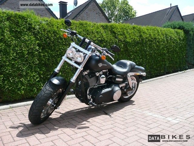 2012 Harley Davidson  Fat Bob Motorcycle Chopper/Cruiser photo