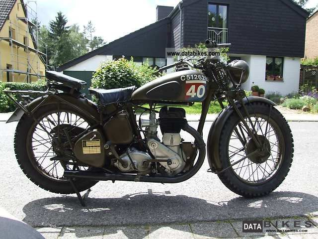 BSA  WM 20 1943 Vintage, Classic and Old Bikes photo