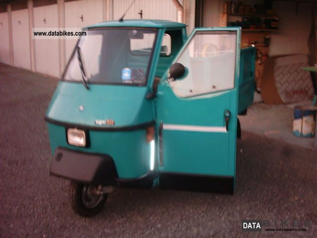 1997 Piaggio  APE 50/102 Motorcycle Lightweight Motorcycle/Motorbike photo