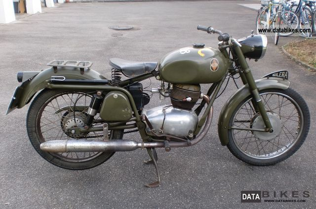 Gilera  175 Turismo Tipo Militare 1958 Vintage, Classic and Old Bikes photo
