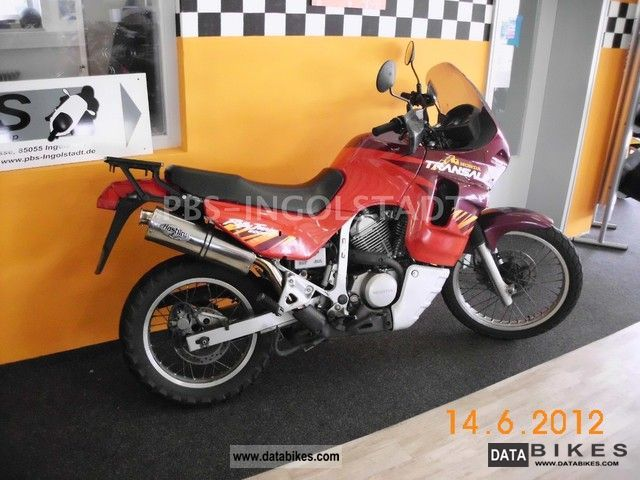 2012 Honda  600 V Transalp Motorcycle Enduro/Touring Enduro photo