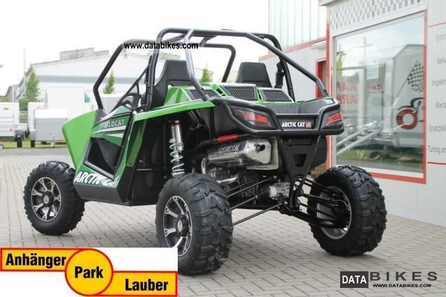 2012 Arctic Cat Wildcat Side by Side, 4x4 EFI lime green ...