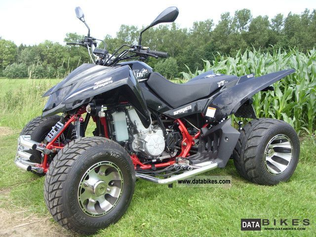 2012 Triton  450 Super Moto LOF Motorcycle Quad photo