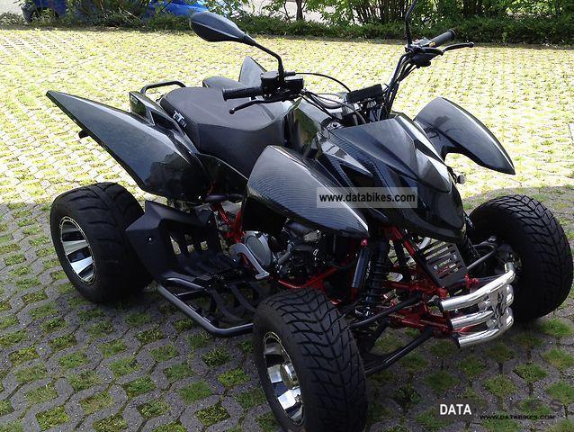 2011 Triton  450 SM Carbon Motorcycle Quad photo