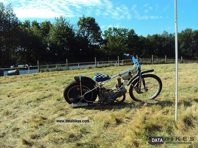 1988 Jawa  500cc Speedway Motorcycle Racing photo