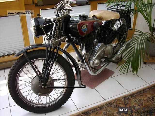 NSU  OS 501 1934 Vintage, Classic and Old Bikes photo