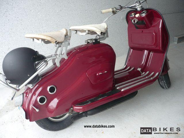 NSU  lambretta 1956 Vintage, Classic and Old Bikes photo
