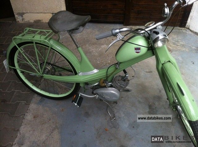 1955 NSU  Quickly N23 Motorcycle Motor-assisted Bicycle/Small Moped photo