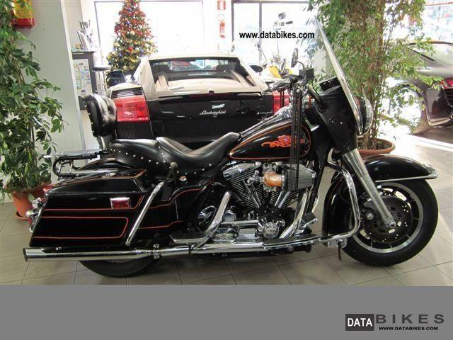 1990 Harley Davidson  FLHT Electra Glide Standard 1340 Motorcycle Chopper/Cruiser photo