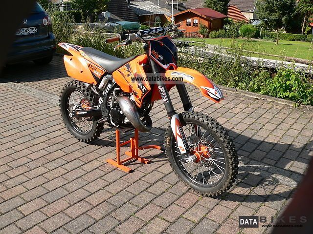 2005 KTM  125 SX Motorcycle Rally/Cross photo