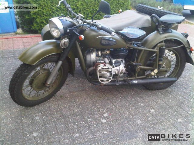 Ural  Dnepr K-750 1968 Vintage, Classic and Old Bikes photo
