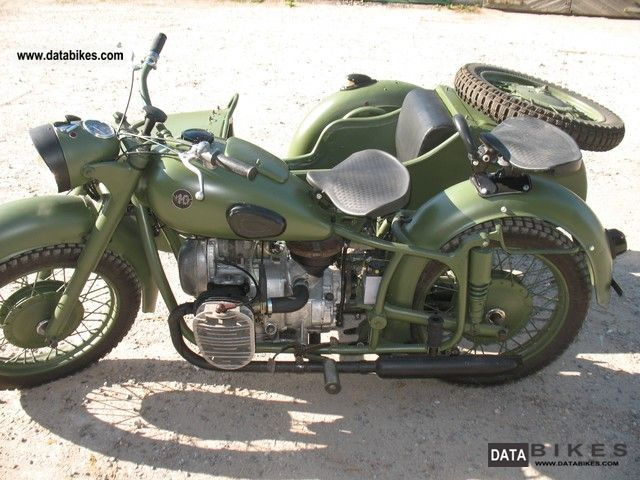 1970 Ural  K-750 Motorcycle Combination/Sidecar photo
