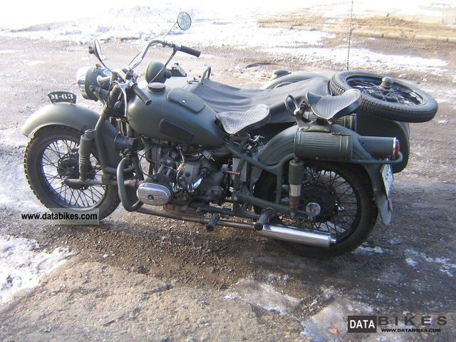 Ural  m-63 1967 Vintage, Classic and Old Bikes photo