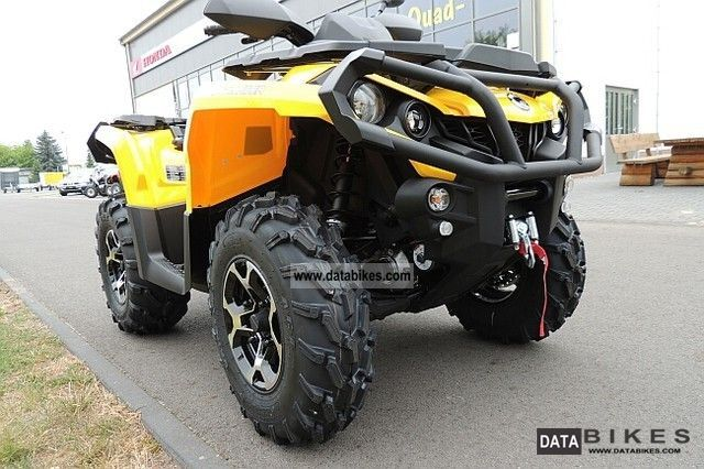 2012 Bombardier  Outlander XT1000 with LOF approval Motorcycle Quad photo