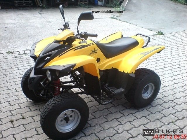 2007 Adly  Cross Road 300 Sentinel Motorcycle Quad photo