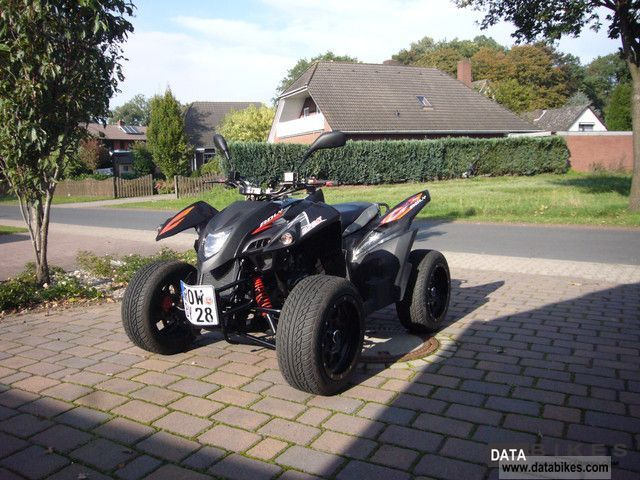 2010 Adly  320 Flat Motorcycle Quad photo