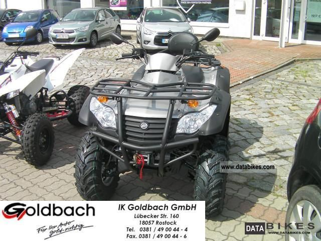2012 CFMOTO  Terra Lander 500 4x4 Motorcycle Quad photo