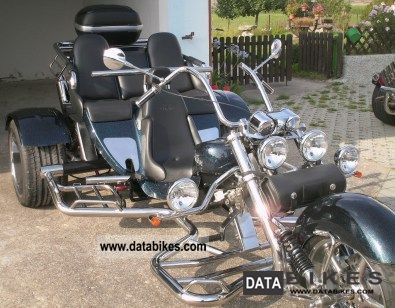 2008 Boom  Family Muscle Motorcycle Trike photo