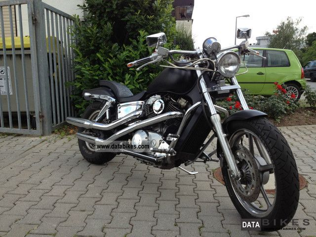 1994 Honda  VT 1100cc TUV NEW 2014!! Motorcycle Chopper/Cruiser photo