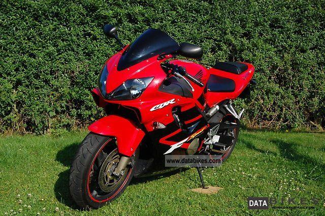 2001 Honda  600 FS Motorcycle Sports/Super Sports Bike photo