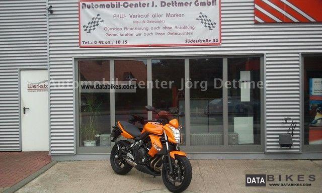 2010 Kawasaki  ER 650 C Motorcycle Motorcycle photo