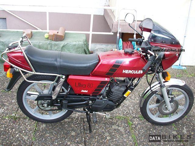 1981 Hercules  Ultra 80 Motorcycle Lightweight Motorcycle/Motorbike photo