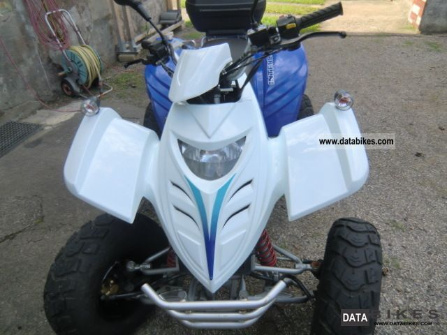 2010 Adly  Interceptor XXL50 Motorcycle Quad photo