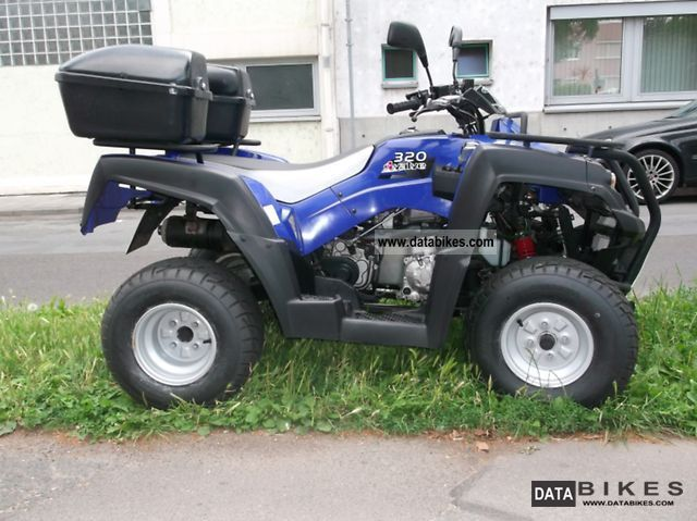 2009 Adly  Hercules Canjon 320 Motorcycle Quad photo