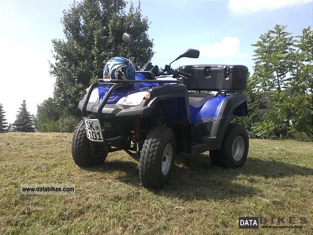 2009 Adly  ATV - 280A Motorcycle Quad photo
