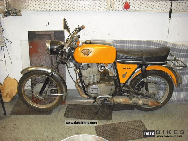 Maico  MD 125 SS 1969 Vintage, Classic and Old Bikes photo
