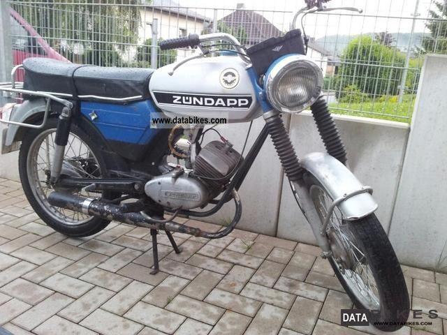 Zundapp  Zundapp CS50 Sports 1976 Vintage, Classic and Old Bikes photo