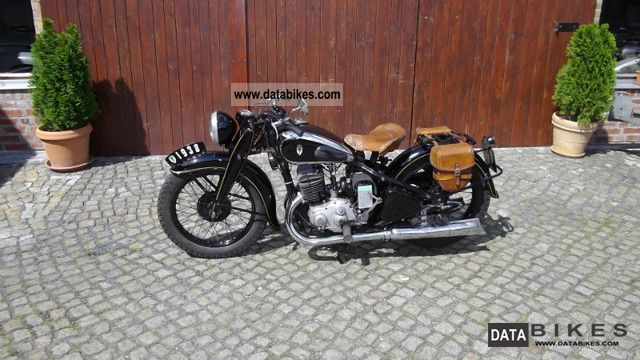 DKW  SB 500 dynastart New MOT 1938 Vintage, Classic and Old Bikes photo
