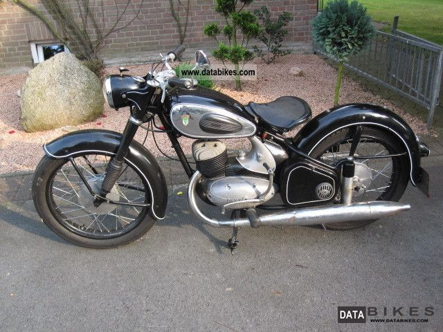 DKW  RT 175 1952 Vintage, Classic and Old Bikes photo
