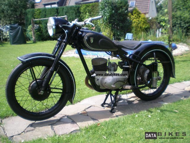 DKW  RT 200 H 1952 Vintage, Classic and Old Bikes photo