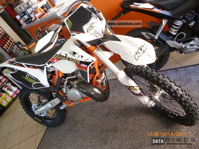 2012 KTM  300 EXC Six Days 2013 Motorcycle Enduro/Touring Enduro photo