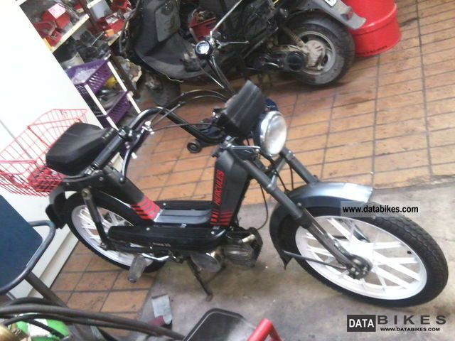 1990 Herkules  Prima 3 s Motorcycle Motor-assisted Bicycle/Small Moped photo