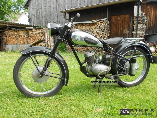 DKW  RT125/2H 1959 Vintage, Classic and Old Bikes photo
