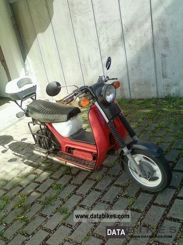 1989 Simson  SR5o Motorcycle Scooter photo
