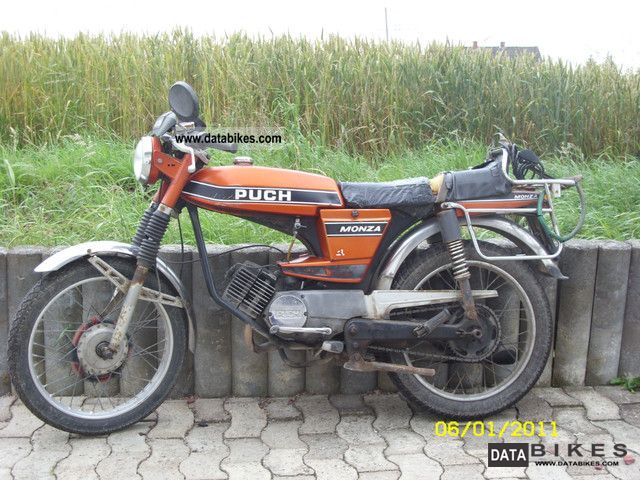 1977 Puch  Monza 4S Motorcycle Motor-assisted Bicycle/Small Moped photo