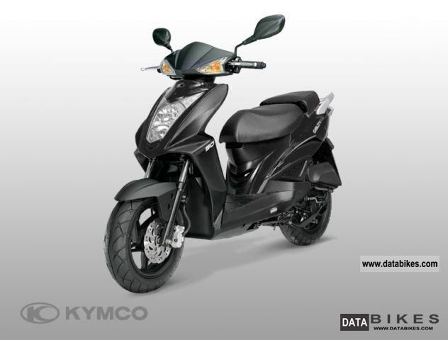 2012 Kymco  Agility 50 RS 2-stroke Motorcycle Scooter photo